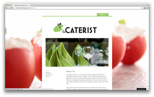 The Caterist Chicago - Launch Effect Premium