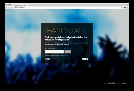 Band Stalk App